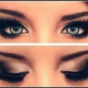 اشتباه چهارم: از سایه چشم درست استفاده نمیکنید