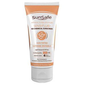 ضد آفتاب سنسی فلوئید +SPF 50 سان سیف