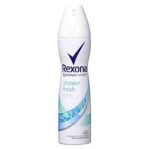 اسپری ضد تعریق رکسونا مدل Shower Fresh حجم 150 میل
