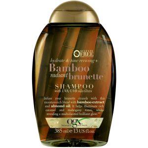 شامپو آبرسان و احیا کننده بامبو مناسب موهای قهوه ای او جی ایکس