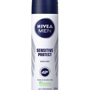 اسپری ضد تعریق مردانه نیوآ مدل Sensitive Protect حجم 150 میل