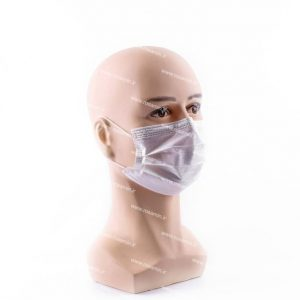 ماسک تنفسی رُزامین سه لایه پرستاری ملت بلون دار رنگ سفید بسته ۵۰ عددی