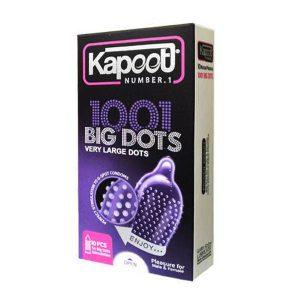 کاندوم خاردار کاپوت مدل Big Dots بسته 10 عددی