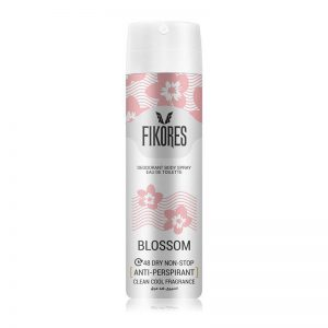 اسپری ضد تعریق زنانه فیکورس مدل Blossom حجم 150 میل