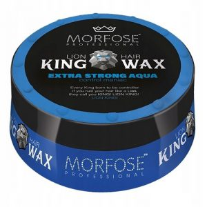واکس موی مورفوس سری King Wax مدل Extra Strong Aqua حجم 175 میل