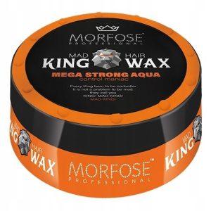 واکس موی مورفوس سری King Wax مدل Mega Strong Aqua حجم 175 میل
