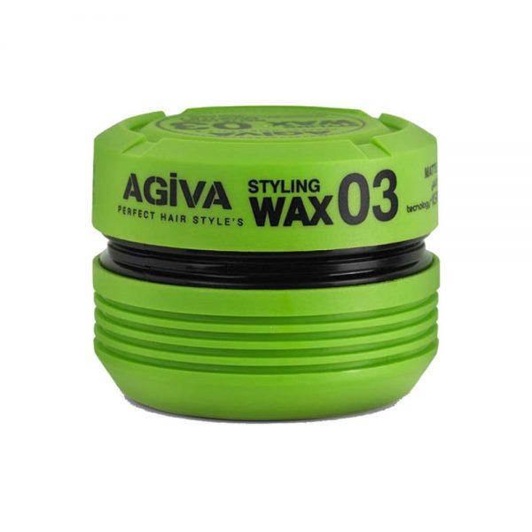 واکس موی آگیوا سبز مدل 03 حجم 175 میل