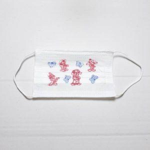 ماسک تنفسی رُزامین سه لایه بچه گانه رنگ سفید ۵۰ عددی