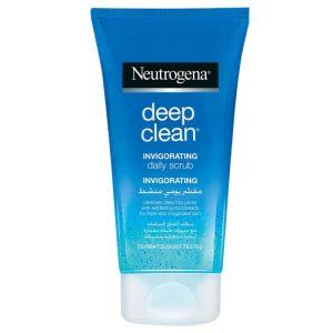 ژل اسکراب شاداب و تقویت کننده پوست روزانه نوتروژينا مدل Deep Clean حجم 150 میل