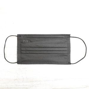 ماسک تنفسی PMNA سه لایه پرستاری رنگ مشکی بسته ۵۰ عددی