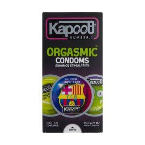 کاندوم خاردار و تاخیری کاپوت مدل Orgasmic بسته 12 عددی
