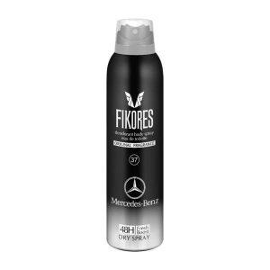 اسپری خوشبو کننده بدن مردانه فیکورس مدل Mercedes Benz Intense حجم 200 میل