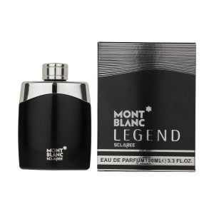 ادو پرفیوم مردانه اسکلاره مدل Mont Blanc Legend حجم 100 میل