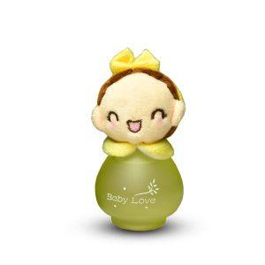 ادکلن بچه گانه عروسکی مدل دختر زرد کد 29-144