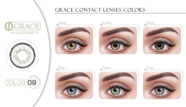 لنز رنگی گریس هرا شماره 9 - HV240